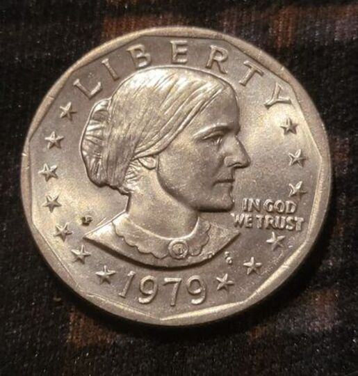 Susan B Anthony Liberty 1979 D ONE DOLLAR U.S. Mint Coin **Ungraded* RARE FIND Item Image