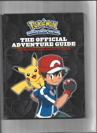 Pokémon : The Official Adventure Guide by Simcha Whitehill (2015) Item Image