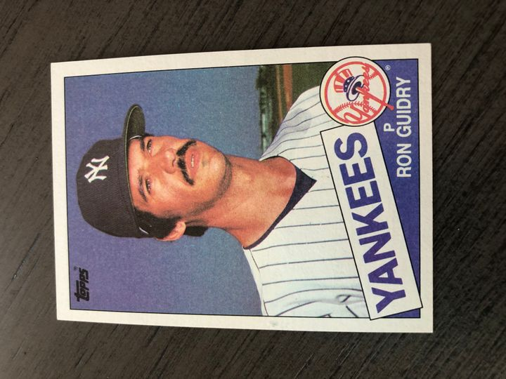 1985 TOPPS RON GUIDRY 790 Item Image