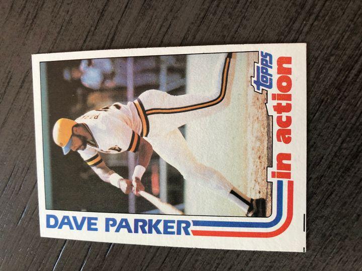 1982 TOPPS DAVE PARKER 41 Item Image