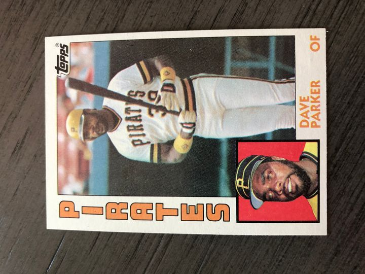 1984 TOPPS DAVE PARKER 775 Item Image